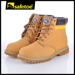 High Quality Professional Protective Goodyear Safety Shoes M-8179 Brown pictures & photos