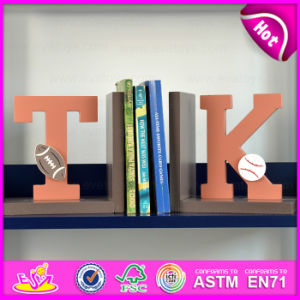 Brand New Wood Letters Bookend, Wooden Sujetalibros, Cute Wooden Letters Bookend, Wooden Letters Bookend for Student W08d060 pictures & photos