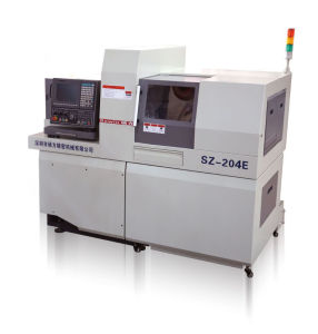Swiss Type CNC Automatic Lathe Dual Spindles Sz-204e pictures & photos