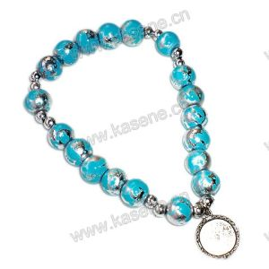 8mm Glass Beads Rosary Bracelet, Fashion Bracelet pictures & photos