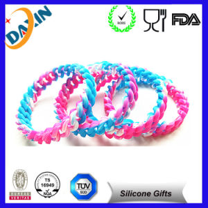 Newest Silicone Rubber Band Bracelets/Silicon Bracelet pictures & photos