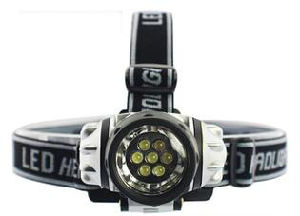 7/12/14 LED Headlamp Powered by 3*AAA Headlight with Good Price (1204c) pictures & photos