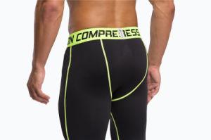 Sports Gym Leggings Bodybuilding Skinny Leggings Trousers for Men (AK2015001) pictures & photos