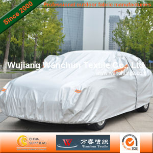 High Waterproof Silver Coated Fabric for Outdoor Carhood pictures & photos