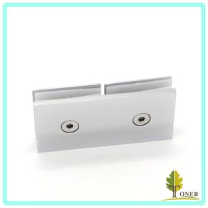 Hot-Sale 180 Degree Arc Edge Square Glass Clamp/ Zinc Alloy Glass Clamp pictures & photos