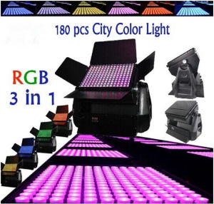 Buildings Towers Wash 180*9W RGB 3in 1 DMX Wireless LED City Color Light pictures & photos