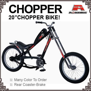 20*3.0 Tire Motor Bike Chopper Bicycle with Oil Box pictures & photos
