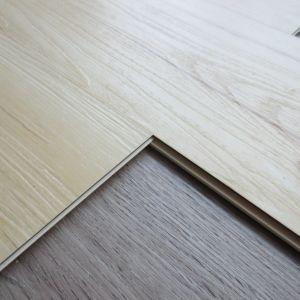 New Color Grain WPC Vinyl Flooring Tiles with Click Interlocking pictures & photos