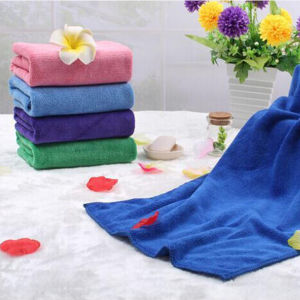100% High Quality Microfiber Hair Towel Sets for SPA (DPF10766) pictures & photos