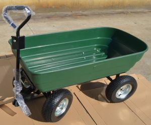 High Quality Garden Trailer Dumping Trolley