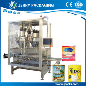 Automatic Milk Powder Can Filling Machine with High Speed pictures & photos