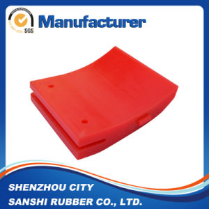 Custom PU Parts with Red Color pictures & photos
