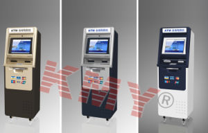 Professional ATM Kiosk with Cash Acceptor and Card Reader pictures & photos