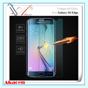HD 9h 2.5D Tempered Glass Screen Guard for Samsung Galaxy S6 Edge G925 (Arc Edge)