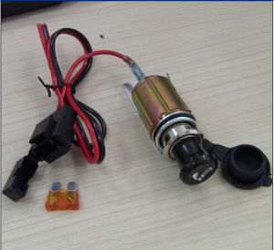Car Cigarette Lighter Socket with Fuse Holder and Wire pictures & photos