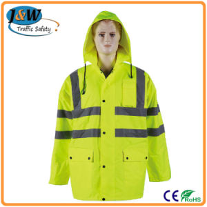 Polyester High Visibility Reflective Safety Vest / Security Vest / Warning Vest pictures & photos