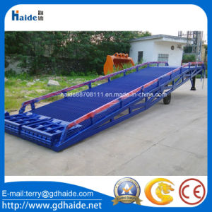 10ton Mobile Yard Ramp for Loading and Unloading pictures & photos