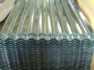 Corrugated Color Coated Steel Sheet pictures & photos