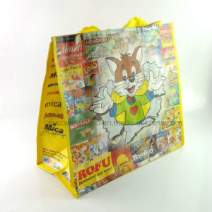 Cartoon Design PP Woven Laminated Shopping Bag for Promotion Gift pictures & photos