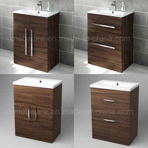 600mm floor standing mdf bathroom basin sink vanity unit