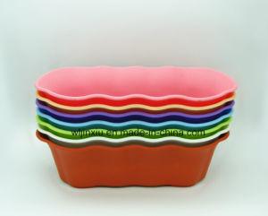 PP Colourful Garden Furniture Flower Pots