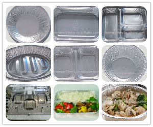 Automatic Almunium Foil Food Container Making Machine pictures & photos