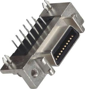 1.27mm 180° DIP SCSI Cen-Type Female Connector pictures & photos