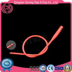 Sterile Latex Foley Balloon Catheter pictures & photos