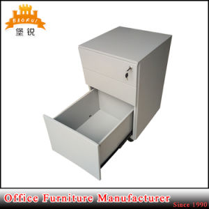 Modern Cheap Wholesale Movable Office Steel 3 Drawer Mobile Cabinet pictures & photos