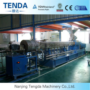 Ce&ISO Twin Screw Extruder with Recycling Granule pictures & photos