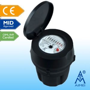 Concntric Super Dry Type Plastic Cold Water Meter pictures & photos