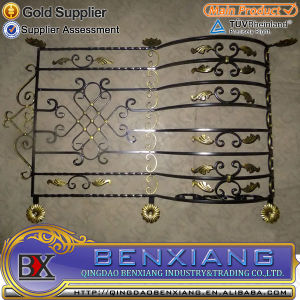 Metal Doors Steel Gates Garden Fence Wrought Iron Power Coating Steel Fence Iron Fence Designs pictures & photos