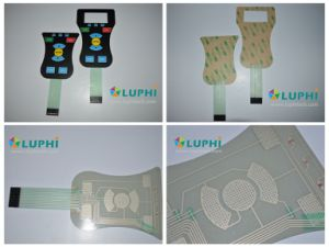 Backlighting Polydome Medical Equipment Membrane Switch (MIC-0099) pictures & photos