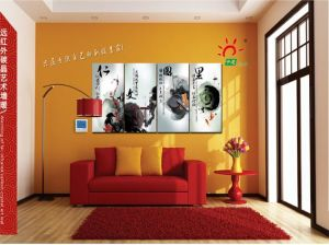 Carbon Crystal Radiant Infrared Panel Heater with Thermostat pictures & photos