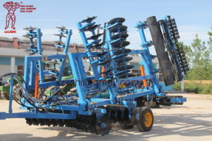 One Pass Application of Combined Land Preparation Machine Disc Harrow for Tractor pictures & photos