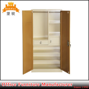 Jas-071 Hot Sale 2 Door Metal Storage Cabinet / Different Colour Steel Almirah pictures & photos
