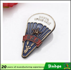 Custom Antique Brass Russia Military Badges with Pin pictures & photos