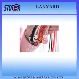 Round Polyester Lanyard/Badge Neck Holder Lanyard pictures & photos