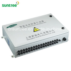 4-16 Strings PV Array with Lighting Protection Solar PV DC Combiner Box pictures & photos