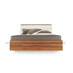 Bj03A Wood Style High Box 5 Star Hotel Bed pictures & photos
