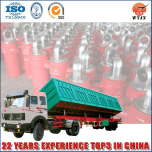 Multi Stage Single Acting Side Dumping Oil Cylinder for Sale pictures & photos