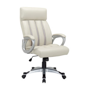 Wholesale Upholstered Leather Swivel Office Desk Executive Chair (FS-8819) pictures & photos