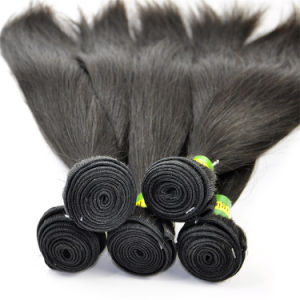 "7A Brazilian Virgin Hair Extensions Straight 14"" Top Quality Hair Weft pictures & photos"