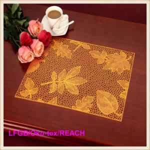 PVC Pressed and Cutout Placemat /PVC Table Mat pictures & photos