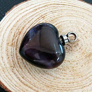 Hot Glass Heart Ash Cremation Jewelry pictures & photos