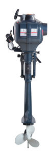 China Small 2 Stroke 3.5HP Boat Outboard Motor with Ce pictures & photos