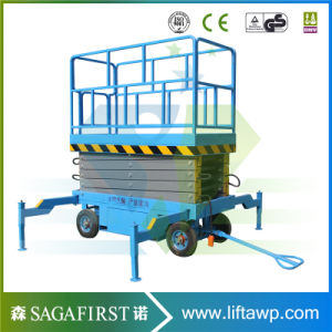 8m 12m Hydraulic Electric Scissor Lift Platform for Ce pictures & photos