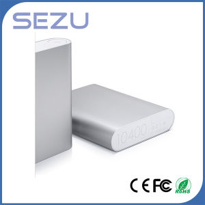 New Arrival 10400mAh Portable Battery Charger for Xiaomi Power Bank pictures & photos