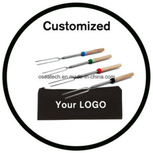 Telescoping Marshmallow Roasting Sticks Set with Bag Logo pictures & photos