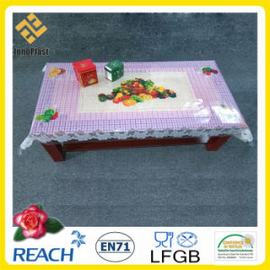 PVC Printed Tablecloth with Independent All-in-One Pattern for Home Decoration pictures & photos